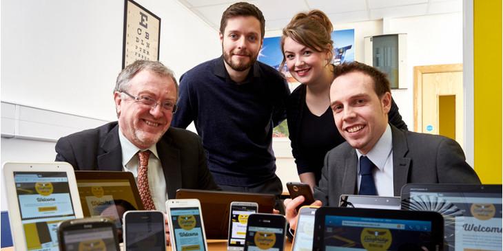 MP Visits Longbridge Device Lab